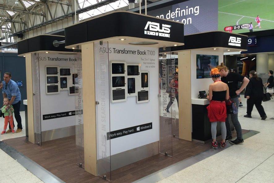 Asus exhibition