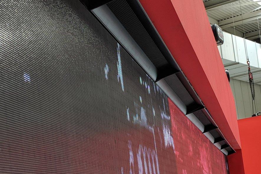 8m video wall