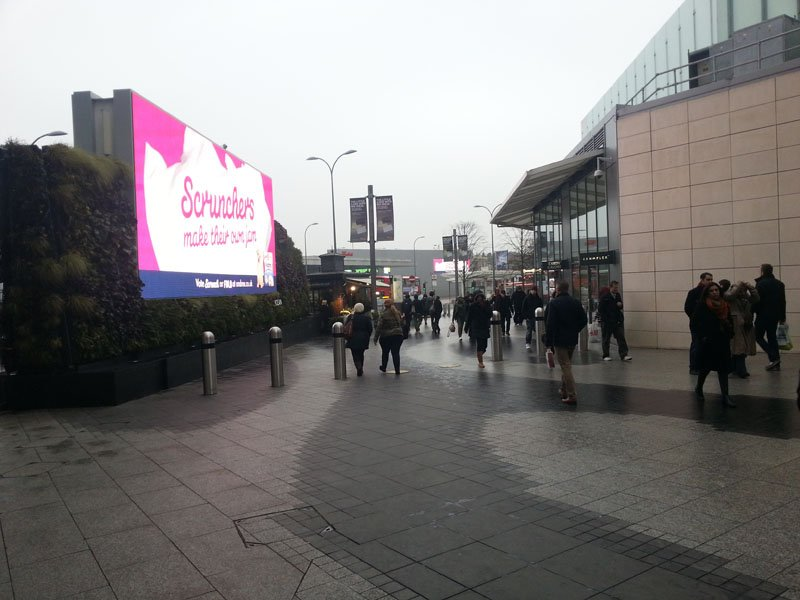 Westfield Shopping Centre in Shepherds Bush